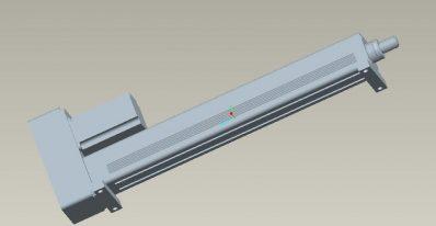 强得力伺服电动缸——卧式安装电动缸