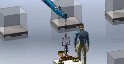 强得力伺服电动缸在伸缩臂上的运用案例