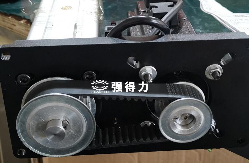 同步带轮相连的伺服折返式电动缸